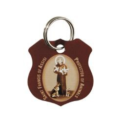 St. Francis Brown Pet Medal - 12/pk