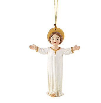 Standing Christ Child Ornament - 4/pk