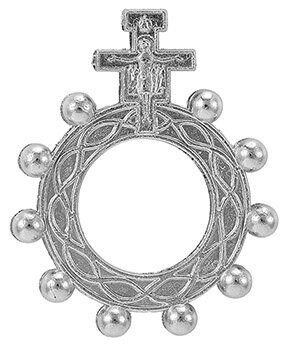San Damiano Rosary Ring - 50/pk