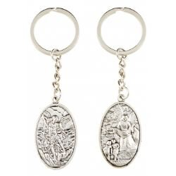 Guardian Angel/St. Michael Key Chain - 12/pk