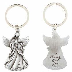 I Thank God for You Angel Key Chain - 12/pk