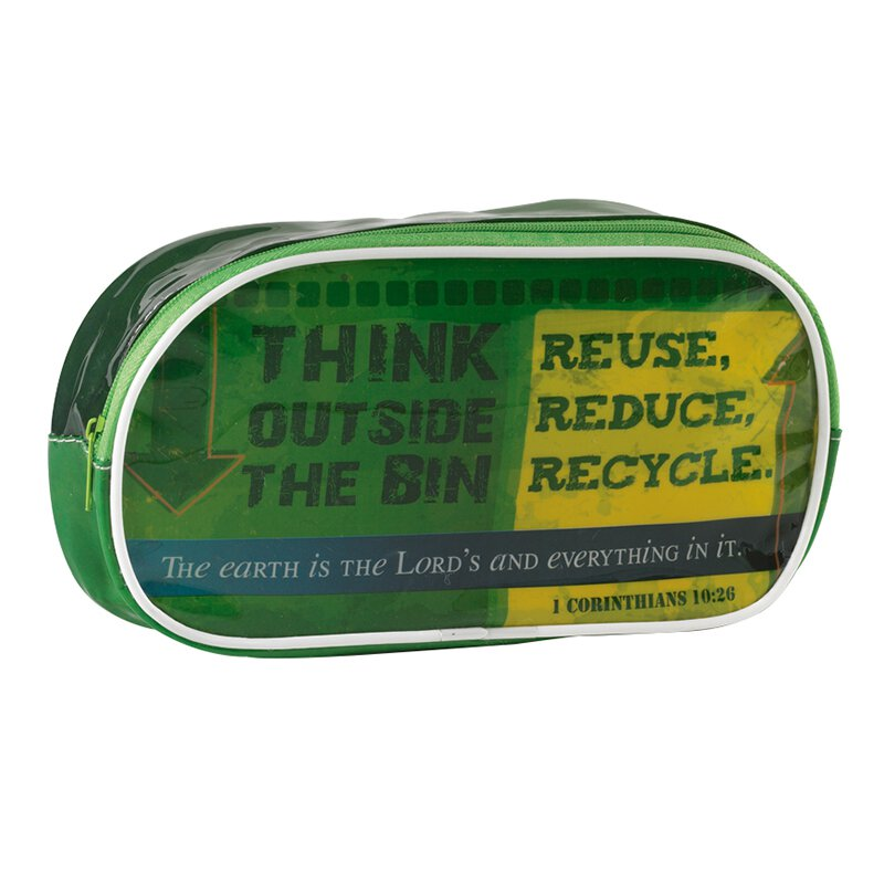Think Outside the Bin Pencil Case