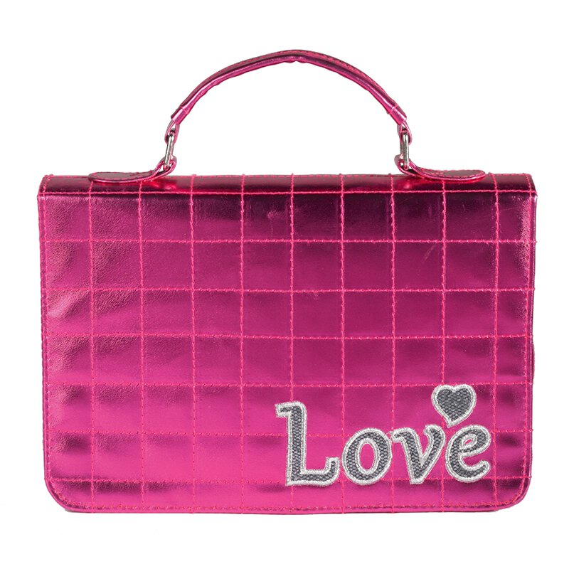 Bible  Cover-MED LOVE QUILTED-PINK