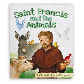 Aquinas Kids® Board Book - Saint Francis and the Animals