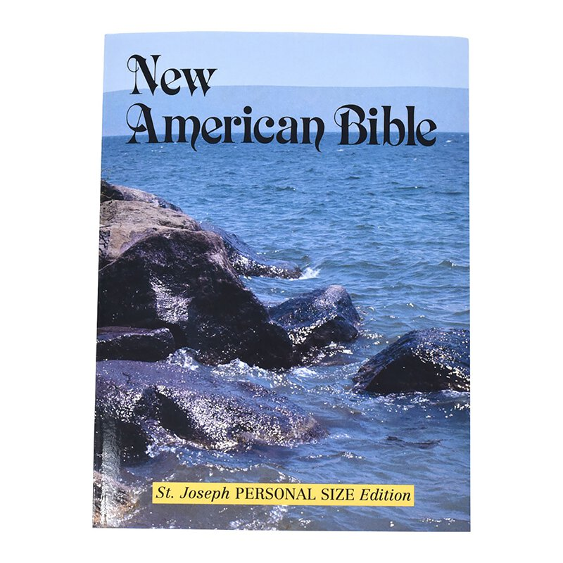 St Joseph New American Bible - Personal Size Study Edition (NABRE)