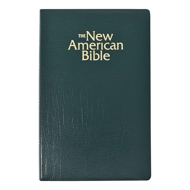 St. Joseph New American Bible (NABRE) Gift & Award Edition - Green
