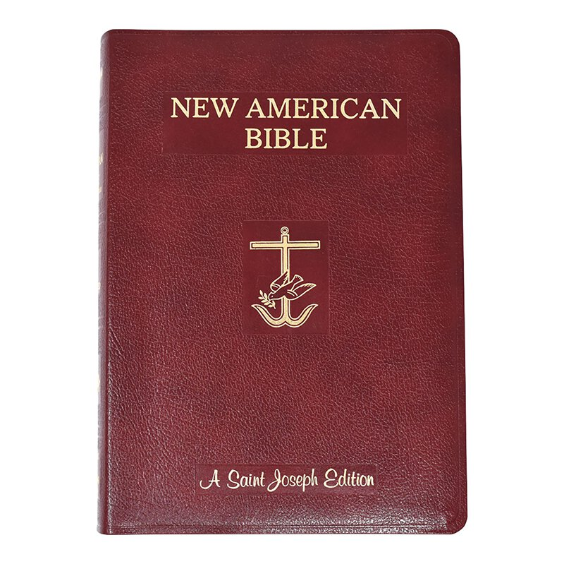 St Joseph New American Bible - Giant Type