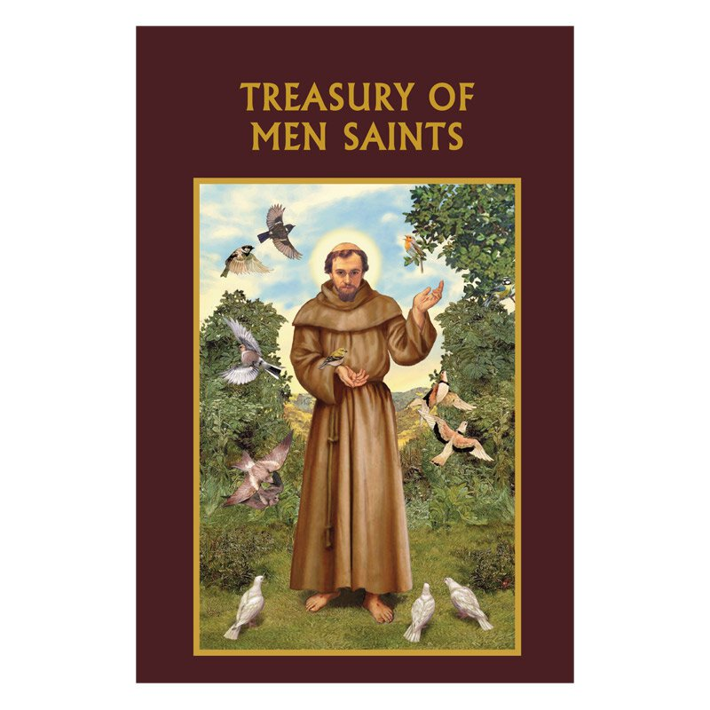 Aquinas Press® Prayer Book - Treasury of Men Saints