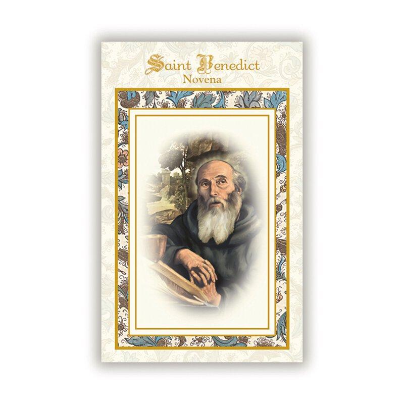 Aquinas Press® Novena Book - St. Benedict