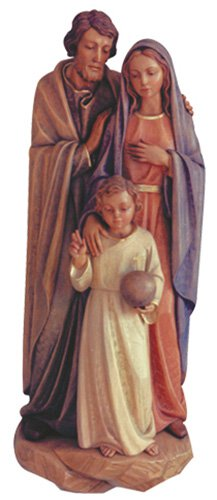 Holy Family Wall Relief - Wood