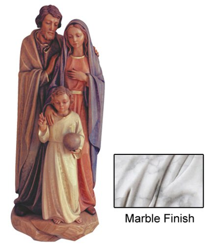 Holy Family Wall Relief - Marble