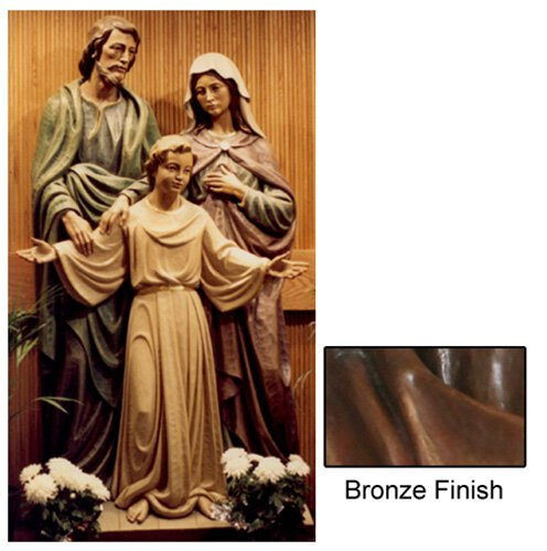 Holy Family Statue - Bronze