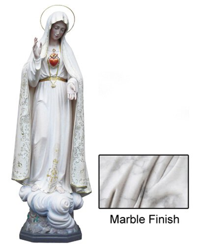 Our Lady of Fatima Statue - Marble