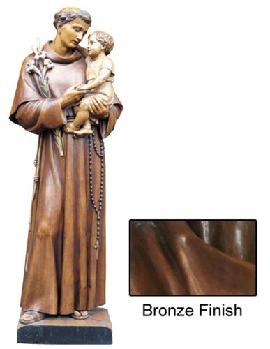 St Anthony Statue - Bronze