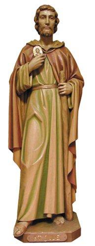 St Jude Statue - Wood