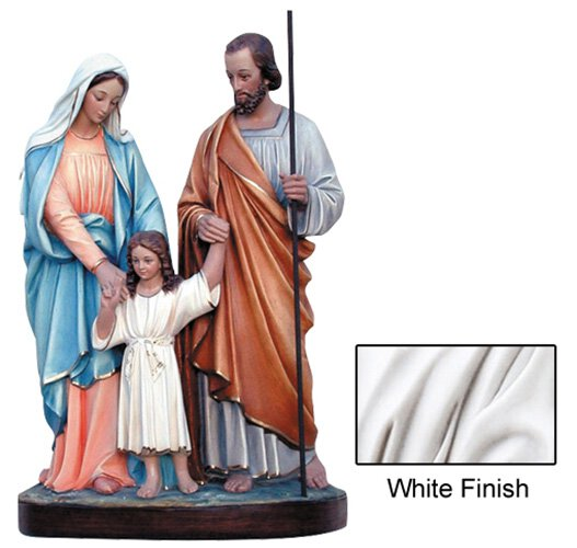 Holy Family Statue - White