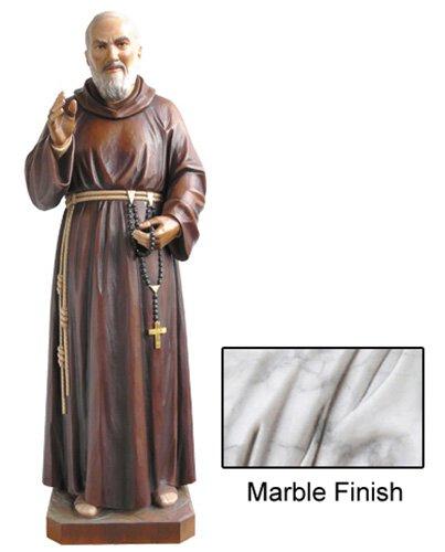 St Pio Statue - Marble