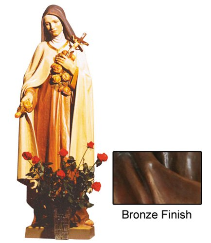 St Theresa Statue - Bronze