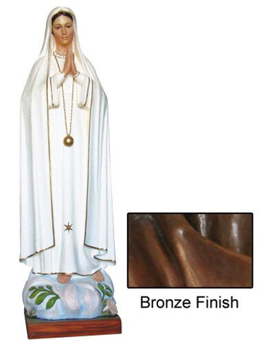 Our Lady of Fatima Statue - Bronze