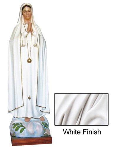 Our Lady of Fatima Statue - White