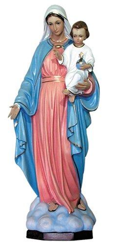 Madonna del Rosario Statue - Color