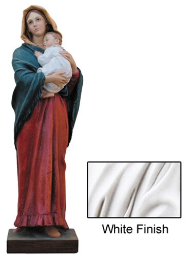 Madonna of the Streets Statue - White