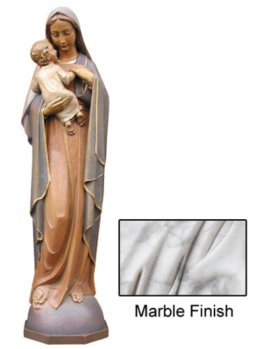 Madonna of Endless Love Statue - Marble