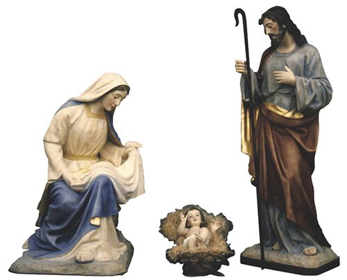 "40"" Nativity Set - Color"