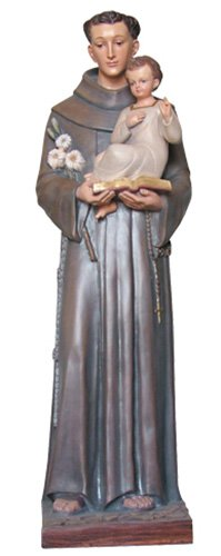 St Anthony Statue - Color
