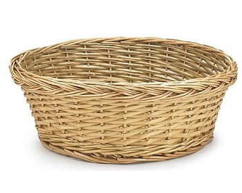 Round Collection Basket - Unlined