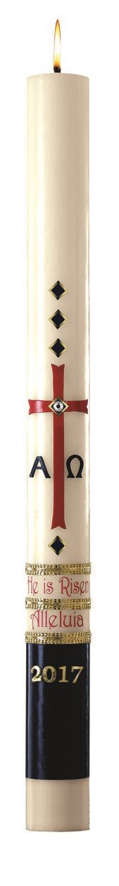 No 8 Exalted Paschal Candle