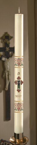 No 9 Coronation Paschal Candle