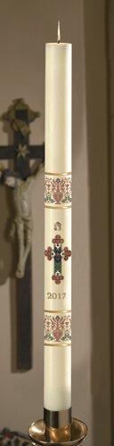 No 15 Coronation Paschal Candle
