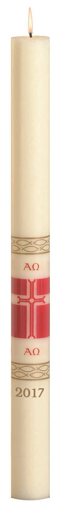 No 4 Special Alleluia Paschal Candle