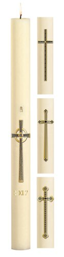 No 4 Assorted Cross Paschal Candles