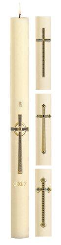 No 8 Assorted Cross Paschal Candles
