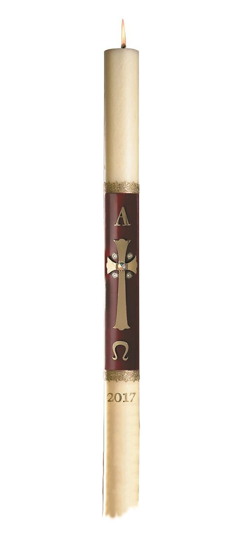 No 8 Majesty Paschal Candle