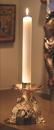 Purissima 100% Beeswax Candle - 12/bx