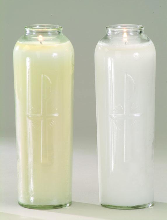 7 Day Sanctolite Candle - Crystal - 12/pk
