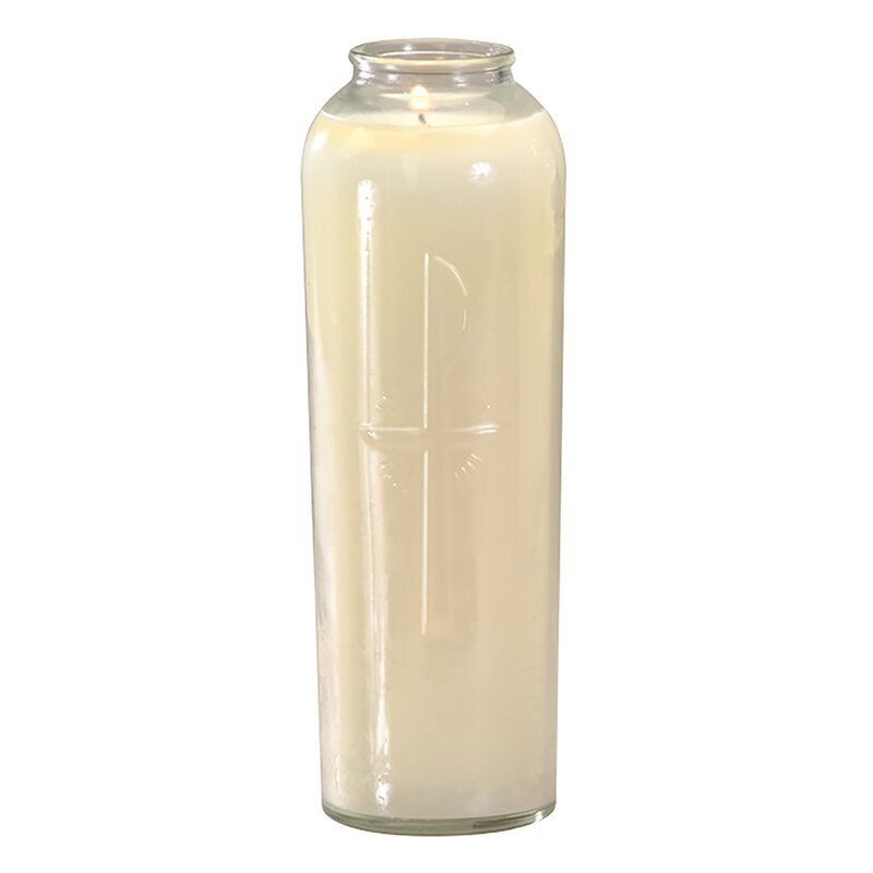 7 Day Sanctolite Candle - Crystal - 12/pk