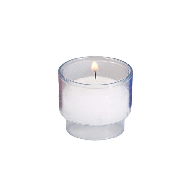 4-Hour Clear Brite-Lite Voticandles® - 504/cs