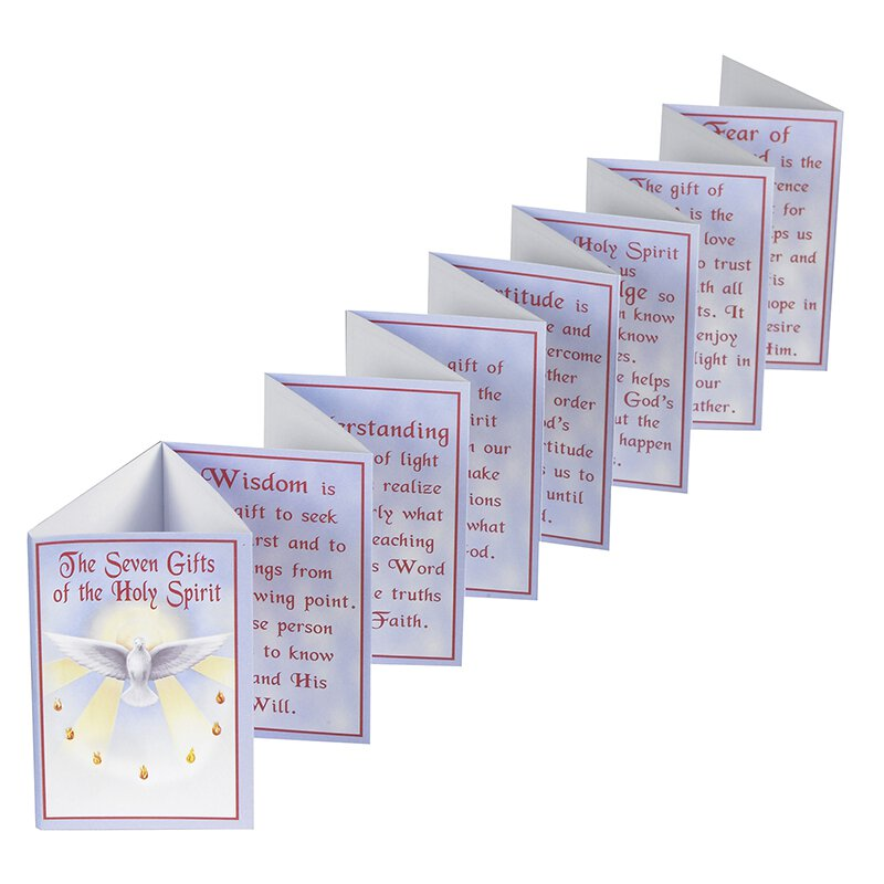 Gifts of the Holy Spirit Accordion Booklet - 24/pk