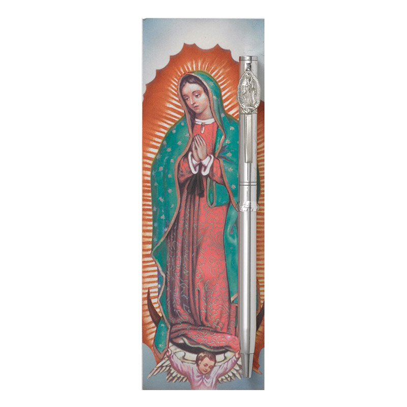 Our Lady of Guadalupe Devotional Pen with Bookmark - 12/pk