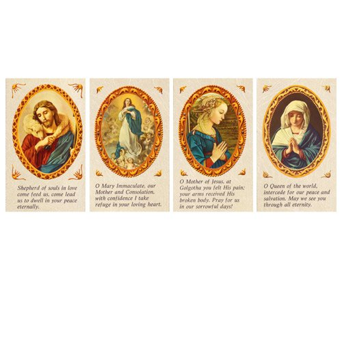 Gerffert Old Masters Holy Card with Blank Back (10 Asst) - 100/pk
