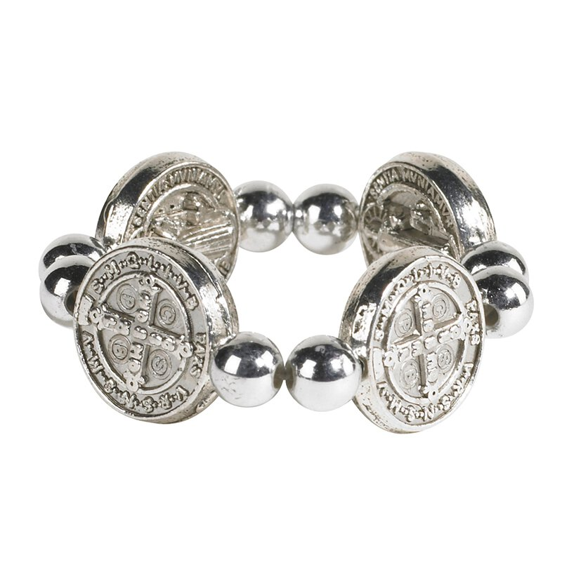 St. Benedict Medal Ring - 24/pk