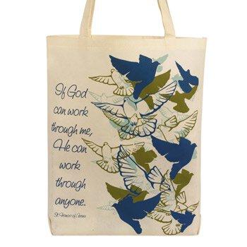 If God Can Work Through Me Tote Bag - 12/pk
