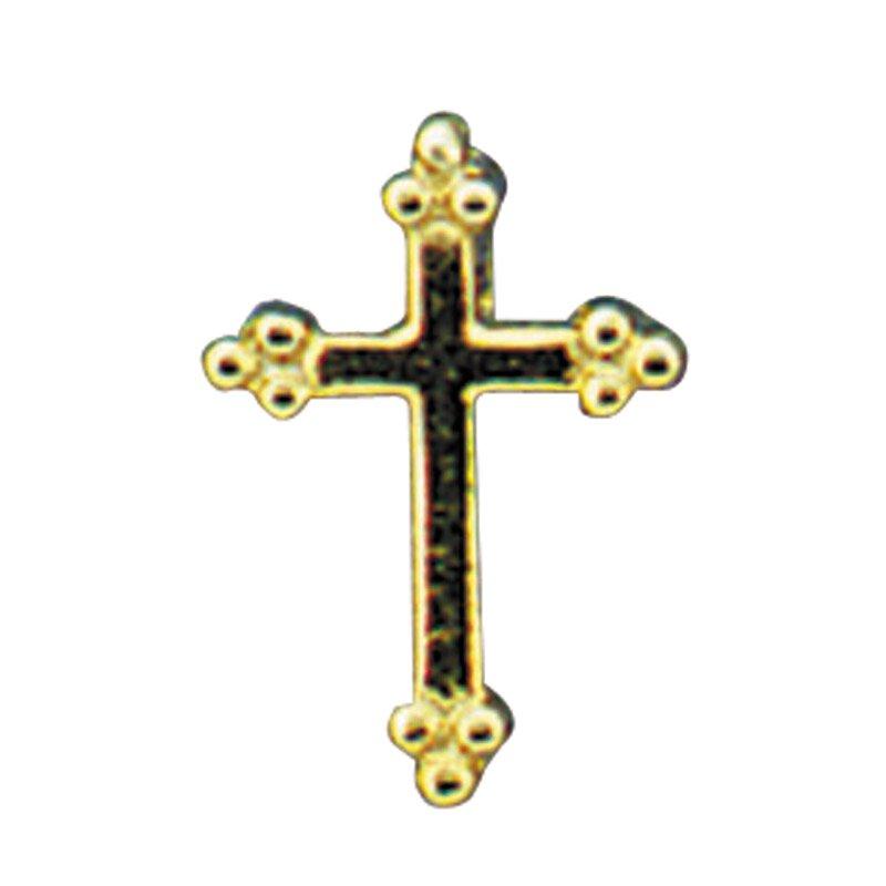 Budded Cross Lapel Pin - 25/pk