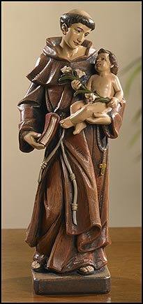 Toscana Saint Anthony Statue