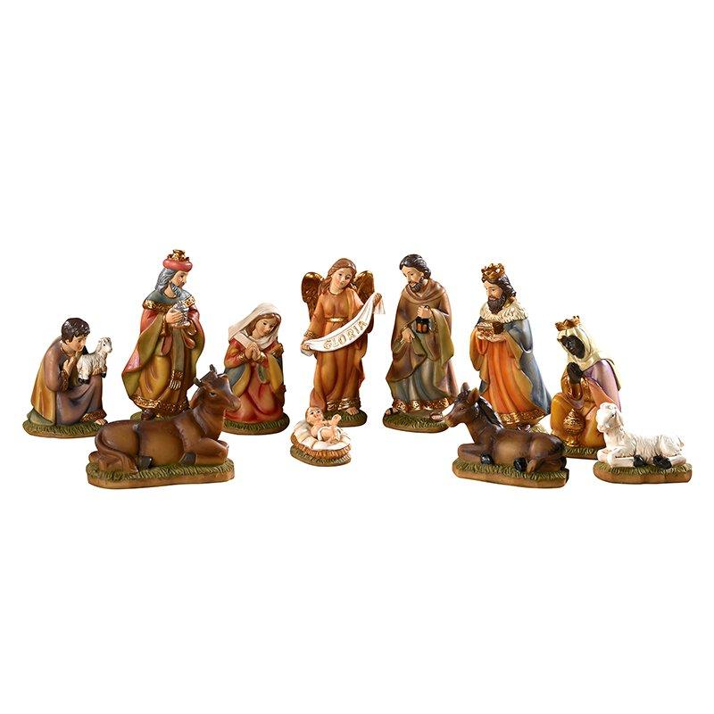 "4.5"" H 11-piece Nativity Set"