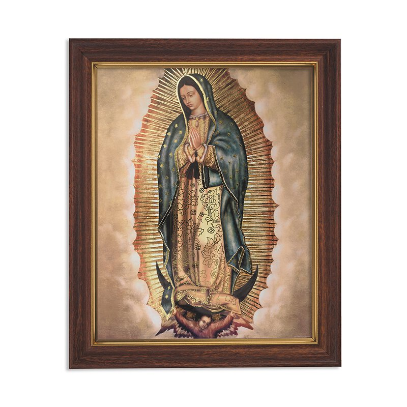 "FRM PRT 12.5"" Our Lady of Guadalupe"